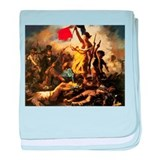 Eugene Delacroix Liberty baby blanket