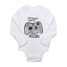 Daddy Plays Games! Body Suit