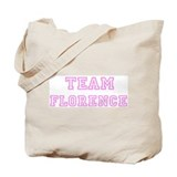 Pink team Florence Tote Bag