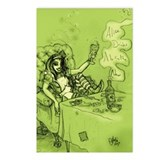 alice-absinthe_8x12.jpg Postcards (Package of 8)
