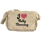 I Love Belly Dancing Messenger Bag