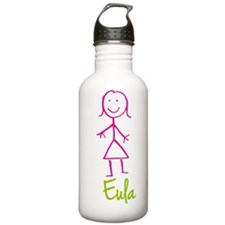 Eula-cute-stick-girl.png Water Bottle