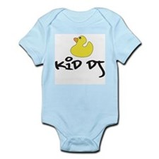 Kid DJ Duckie Infant Bodysuit