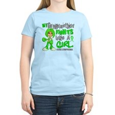 Fights Like a Girl 42.9 Lymphoma T-Shirt