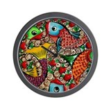 Cool Koi fish Wall Clock