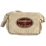 Starbuck is my co-pilot Messenger Bag