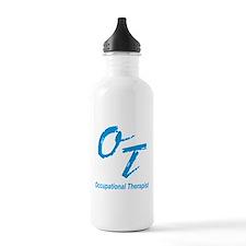 OT, blue Water Bottle