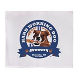 Funny Dog Throw Blanket