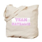 Pink team Nathalie Tote Bag