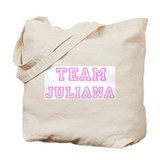 Pink team Juliana Tote Bag