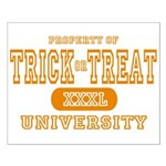 Trick or Treat University Small Poster