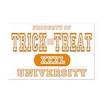 Trick or Treat University Mini Poster Print