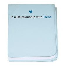 Trent Relationship baby blanket