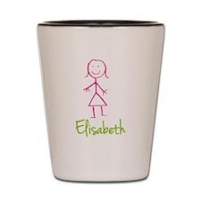 Elisabeth-cute-stick-girl.png Shot Glass