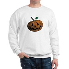 Worn Look Pumpkin Sweatshirt