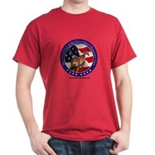 New Democrat Seal Red T-Shirt