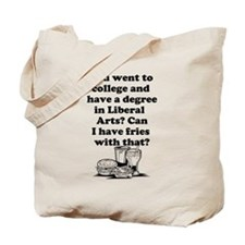 Liberal Arts Tote Bag