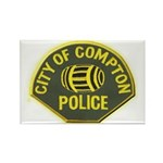 Compton Police Rectangle Magnet (100 pack)