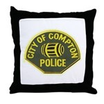 Compton Police Throw Pillow