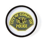 Compton Police Wall Clock