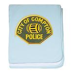 Compton Police baby blanket