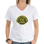 Compton Police Women's V-Neck T-Shirt