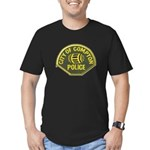 Compton Police Men's Fitted T-Shirt (dark)