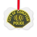 Compton Police Picture Ornament
