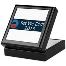 O yes we did!!! 2013 Keepsake Box