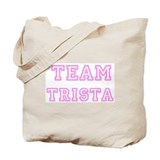 Pink team Trista Tote Bag