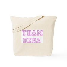 Pink team Dena Tote Bag