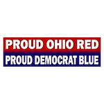 Proud Ohio Red, Proud Democrat Blue