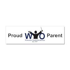 """""""Proud Parent"""" Car Magnet 10 x 3"""