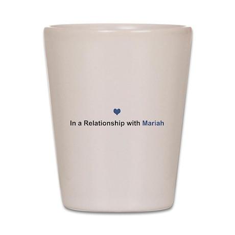 Mariah Relationship Shot Glass