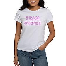 Pink team Winnie Tee