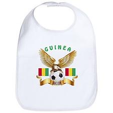 Guinea Football Design Bib