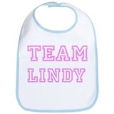 Pink team Lindy Bib