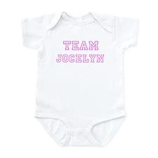 Pink team Jocelyn Infant Bodysuit