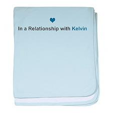 Kelvin Relationship baby blanket