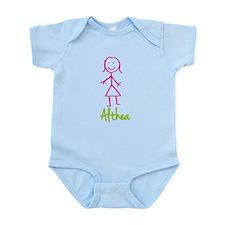 Althea-cute-stick-girl.png Infant Bodysuit