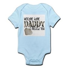 Welcome Home Daddy Body Suit