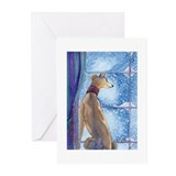 Unique Whippet Greeting Cards (Pk of 10)