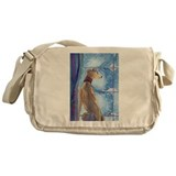 Cute Snow Messenger Bag