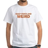 Keep Portland Weird - Orange Shirt