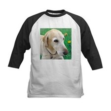 Yellow Lab in Meadow Tee