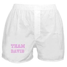 Pink team David Boxer Shorts