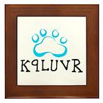 K9LUVR Framed Tile