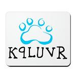 K9LUVR Mousepad