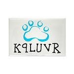 K9LUVR Rectangle Magnet (100 pack)