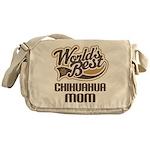 Chihuahua Mom Messenger Bag